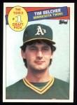 1985 Topps #281  Tim Belcher  Front Thumbnail