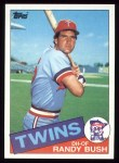 1985 Topps #692  Randy Bush  Front Thumbnail