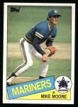 1985 Topps #373  Mike Moore  Front Thumbnail