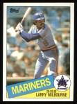 1985 Topps #754  Larry Milbourne  Front Thumbnail
