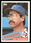 1985 Topps #678  Joey McLaughlin  Front Thumbnail