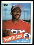 1985 Topps #437  Al Jones  Front Thumbnail