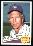 1985 Topps #10  Don Sutton  Front Thumbnail