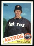 1985 Topps #666  Mike LaCoss  Front Thumbnail