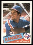 1985 Topps #594  Curt Wilkerson  Front Thumbnail