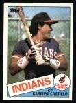 1985 Topps #184  Carmen Castillo  Front Thumbnail