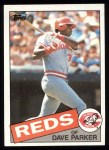 1985 Topps #175  Dave Parker  Front Thumbnail