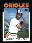 1986 Topps #548  Mike Young  Front Thumbnail