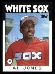 1986 Topps #227  Al Jones  Front Thumbnail