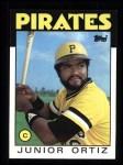 1986 Topps #682  Junior Ortiz  Front Thumbnail
