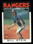 1986 Topps #371  Bill Stein  Front Thumbnail