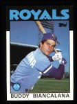 1986 Topps #99  Buddy Biancalana  Front Thumbnail