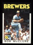 1986 Topps #684  Bob McClure  Front Thumbnail