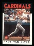 1986 Topps #683  Andy Van Slyke  Front Thumbnail