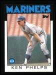 1986 Topps #34  Ken Phelps  Front Thumbnail
