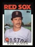 1986 Topps #11  Bob Ojeda  Front Thumbnail