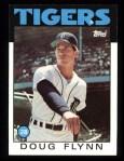 1986 Topps #436  Doug Flynn  Front Thumbnail