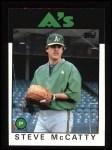 1986 Topps #624  Steve McCatty  Front Thumbnail
