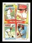 1986 Topps #5   -  Pete Rose Rose Special: 75-78 Front Thumbnail