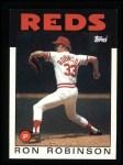 1986 Topps #442  Ron Robinson  Front Thumbnail