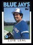 1986 Topps #459  Luis Leal  Front Thumbnail