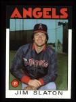 1986 Topps #579  Jim Slaton  Front Thumbnail