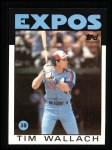 1986 Topps #685  Tim Wallach  Front Thumbnail