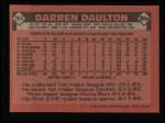 1986 Topps #264  Darren Daulton  Back Thumbnail