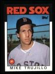 1986 Topps #687  Mike Trujillo  Front Thumbnail