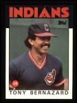 1986 Topps #354  Tony Bernazard  Front Thumbnail