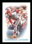 1986 Topps #66   -  Cardinals Leaders Cardinals Leaders Front Thumbnail