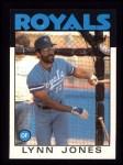 1986 Topps #671  Lynn Jones  Front Thumbnail