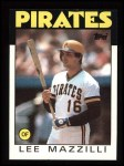 1986 Topps #578  Lee Mazzilli  Front Thumbnail