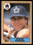 1987 Topps #258  Steve Yeager  Front Thumbnail