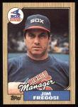 1987 Topps #318  Jim Fregosi  Front Thumbnail