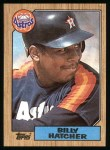 1987 Topps #578  Billy Hatcher  Front Thumbnail