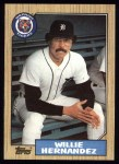 1987 Topps #515  Willie Hernandez  Front Thumbnail