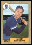 1987 Topps #203  Mike Kingery  Front Thumbnail