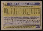 1987 Topps #66  Marc Sullivan  Back Thumbnail