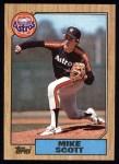 1987 Topps #330  Mike Scott  Front Thumbnail