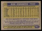 1987 Topps #136  Ron Romanick  Back Thumbnail
