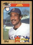 1987 Topps #610   -  Jim Rice All-Star Front Thumbnail