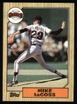 1987 Topps #151  Mike LaCoss  Front Thumbnail
