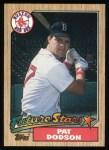 1987 Topps #449  Pat Dodson  Front Thumbnail
