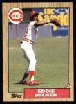 1987 Topps #253  Eddie Milner  Front Thumbnail