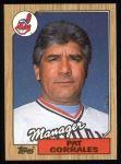 1987 Topps #268  Pat Corrales  Front Thumbnail