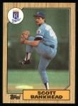 1987 Topps #508  Scott Bankhead  Front Thumbnail