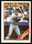 1988 Topps #142  Andy Van Slyke  Front Thumbnail