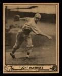 1940 Play Ball #114  Lonnie Warneke  Front Thumbnail