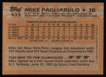 1988 Topps #435  Mike Pagliarulo  Back Thumbnail